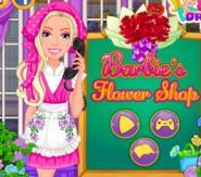 Çiçekçi Barbie Oyunu