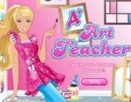 Resim Öğretmeni Barbie Oyunu