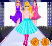 Süper Barbie'nin Defilesi Oyunu