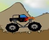 Büyük Truck ile Arazide Mücadele Oyunu