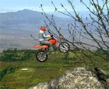 Dağda Motor Sürme Oyunu