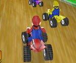 Mario Atv Yarışı Oyunu