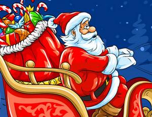 Noel Baba Kızağı Oyunu