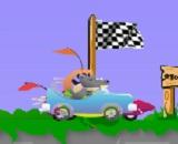 Araba Süren Köpekler Oyunu