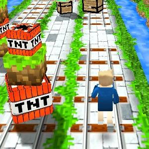Minecraft Zombi Koşusu