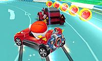 Süper Kahraman Karting Oyunu