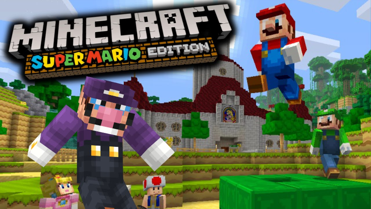 Minecraft Süper Mario Oyunu