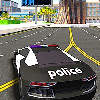 Polis Araba Simülatörü Oyunu