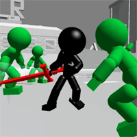 Çöp Adam Kılıç Dövüşü 3D Oyunu