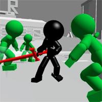 Çöp Adam Kılıç Dövüşü 3D