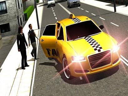 Çılgın Taksi Simülatörü 3D Oyunu