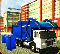 Gerçek Çöp Kamyonu Simülatörü Oyunu