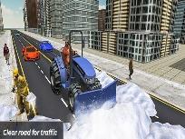 Kar Temizleme Simülatörü Oyunu