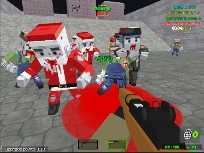 Minecraft Piksel Savaşları Zombi Kıyameti