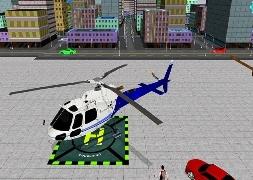 Helikopter Park Simülatörü Oyunu