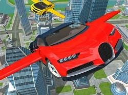 Uçan Araba Sürüş Simülatörü Oyunu