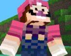 Super Mario Minecraft Koşu