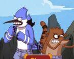 Mordekay ve Rigby Dövüş İkiz Yumruk 2