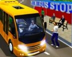 Şehirde Minibüs Sürme