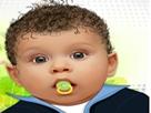 3D Bebek Makyajı
