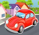 Kırmızı Araba Park