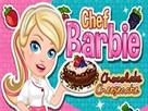 Şef Barbie Çikolatalı Kek
