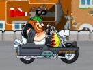 Zombilere Motoru Kaptırma Oyunu